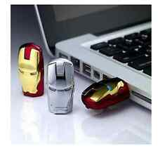 Iron Man 8GB  8gb  USB 2.0 Flash Memory Stick Pen Drive Storage Thumb Disk Real