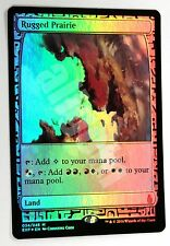 Mtg 1x EXPEDITIONS RUGGED PRAIRIE (Prateria Accidentata) Zendikar NM/Mint Foil