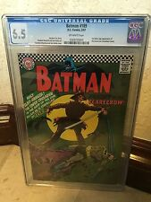 BATMAN #189 CGC 6.5 FN+ 1ST SILVER AGE APP OF THE SCARECROW (ID 5324)