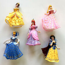 Disney Princess 5x set 12 cm PVC Figure toy Snow White Cinderella Aurora Belle