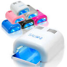 Salon Edge Gel Curing Nail Polish UV Lamp 36W Acrylic Timer Light Manicure Dryer