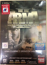 NEW*SEALED PC GAME ARMA II COMBINED OPERATIONS (PC)(DVD)