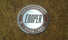 Mini John Cooper Mk1 S Works Enamel Grille Badge 'World Champions' Rare Mpi Race