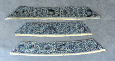THREE ANTIQUE CHINESE SILK EMBROIDERED SLEEVE PANELS (Not reproductions)