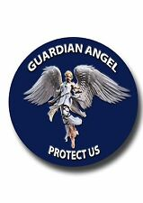 GUARDIAN ANGEL METAL DISC TO FIT INSIDE  REDUNDANT TAX DISC HOLDER.