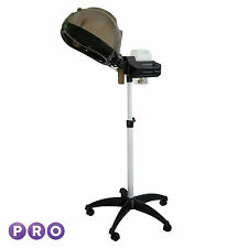 Professional Hooded Hair Steamer - Rolling Floor Standing Beauty Salon Equipment