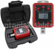 """3/8"""" DR. Digital Torque Wrench Adaptor Micro Meter FT/LB IN/LB LED Microtorque"""