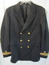 VIETNAM WAR 1966 US NAVY FLYERS OFFICER DRESS UNIFORM JACKET - NAMED & DATED