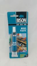 NEW Bison Model Plastic Adhesive Glue 25ml Ultra strong Clear 1317210