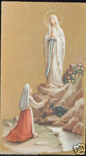 OLD BLESSED VIRGIN OF FATIMA HOLY CARD ANDACHTSBILD SANTINI ESTAMPA CC620