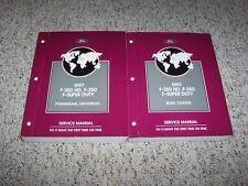 1997 Ford F-250 HD Shop Service Repair Manual XL XLT 5.8L 7.5L V8 7.3L Diesel