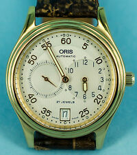 Rare Oris automatic regulateur watch - cal. Oris 649, 27 jewels movement