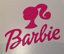 Rose barbie vinyl decal sticker