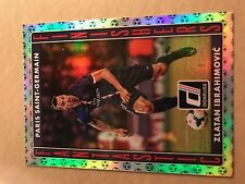 2015 Panini Donruss Fantastic Finishers Z Ibrahimovic PSG Card /25 Green Ball !!