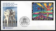 United Nations / Vienna office - 1992 Earth Summit Mi. 129-32 FDC