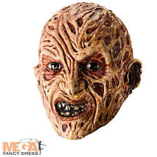 FREDDY KRUEGER Adulti Maschera Costume Halloween Horror uomo Accessorio Costume
