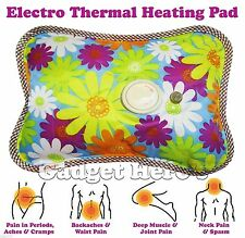 Cordless Rechargeable Electric Heating Gel Pad for Hot & Cold Therapies body