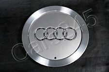 "Genuine 15"" Alloy Wheel Center Hub Avus Silver Cap 1pcs Audi A4 A6 A8 1998-2010"