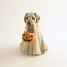 Halloween Decoration Ghost Dog Figurine Bethany Lowe