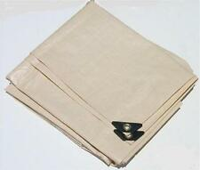 6' x 10' TAN / BEIGE HEAVY DUTY POLY TARP  ** Free Shipping **