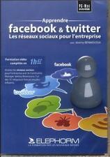 apprendre facebook et twitter   les réseaux sociaux pour l'entreprise Benmoussa