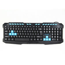 Pro Gamer Gaming Keyboard USB Wired PC Keyboard LOL CF Overwatch PC console game
