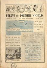 63 CLERMONT- FERRAND MICHELIN BIBENDUM  BUREAU DE TOURISME PUBLICITE 1912