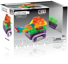Tank Runners Laser Pegs Lighted Construction Toy 6 in 1 Motorized