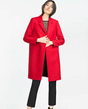 ZARA OUTERWEAR COAT WITH POCKETS WINTER LAST 2025/163 SIZE SMALL