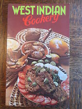 Vintage Cook Book WEST INDIAN COOKERY Recipes Cooking 1978 Caribbean OLD