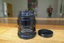 Leica Tele-Elmarit M 90mm f/2.8 lens FAT Exc+++ Mint glass M3 M8 M9 M240 M10