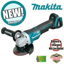 "Makita XAG06Z 18V LXT Brushless Cordless 4-1/2"" Paddle Switch Cut-Off Grinder"