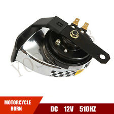Enhanced Treble Snail Motorcycle Speaker DC12V 510Hz Euro Motorbike Racing Horn
