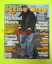 ROLLING STONE USA MAGAZINE 957/2004 Michael Moore Bjork Steve Earle Shyne No cd