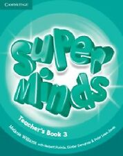 Super Minds Level 3 Teacher's Book, Williams, Melanie, Very Good condition, Book