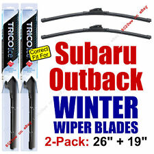 WINTER Wiper Blades 2-Pk Super-Premium fit 2010-2014 Subaru Outback 35260/35190