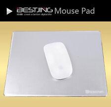 Aluminum Metal Gaming Mat Mouse Pad Mousepad for laptop desktop
