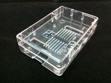 Raspberry Pi Closed Case High Quality for Model 2 and Model B + (Transparent)