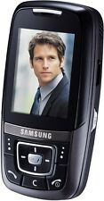 Samsung SGH d600 Black (Senza SIM-lock) mp3 Camara 4 nastro Bluetooth mini telefono