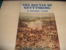 THE BATTLE OF GETTYSBURG A Guided Tour PB 1966 General Stackpole Photographs