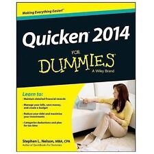 Quicken 2014 For Dummies, Nelson, Stephen L., Good Condition, Book