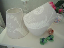 Handmade Candle Lampshade - Laura Ashley Josette fabric - all colours available