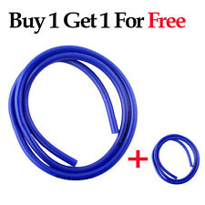 1m /3 Feet Dia 8mm Magnetic Motorcycle Fuel Gas Vent Drain Line Hose Tube Blue