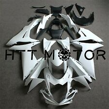 Unpainted Motorcycle Fairing BodyWork Kit Fit Suzuki GSXR600/750 2011-2015 12 13