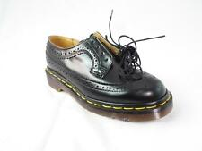 DR MARTENS 3989 AZTEC WINGTIP SMOOTH BLACK BROGUE MIE UK MADE NOS NWOB UK 3