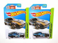 HotWheels Datsun 240z S30 Set of 2 VHTF NEW 2015 Black fairlady z L24