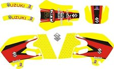 1999 2000 Suzuki RM 250 RM 125 Graphics Decals Shrouds Rear fender Sticker