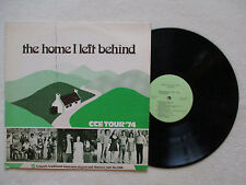 "LP 33T IRISH TRAD. FOLK ""The home I left behind, CCE tour 74"" CL-9 §"