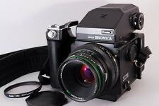 =NEAR MINT= Bronica ETRS AE-II Finder 75mm /2.8 + 120 Back, Etc. from Japan #k34