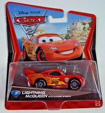 Disney Pixar CARS Movie 2 Die Cast Metal Mattel Lightning McQueen  MIP
